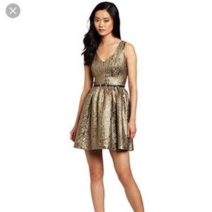 Kenzie gold dress.